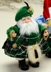 "8"" Irish Santa Figure - 0089945415520"