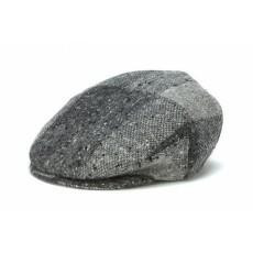 Grey Heather Flat Cap -