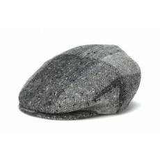 Grey Heather Flat Cap