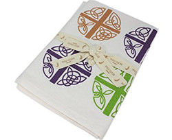 Celtic Love Cross Tea Towel