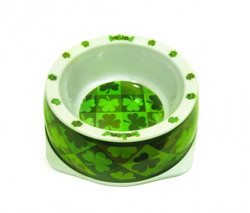 Shamrock Dog Bowl