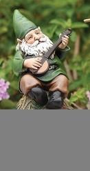 """6"""" Gnome W/ Banjo - 0089945543575"""