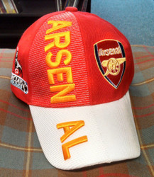 Arsenal 3D Embroidered Hat