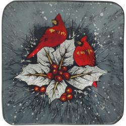 """Cardinal- 8"""" Square Plate"""