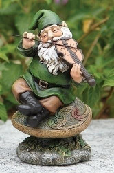 """5"""" Gnome With Fiddle - 0089945543568"""