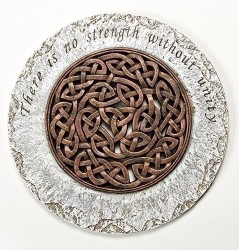 "12"" Diameter Celtic Knot Stepping Stone - 0089945552065"