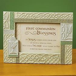 Irish First Communion Photo Fram -
