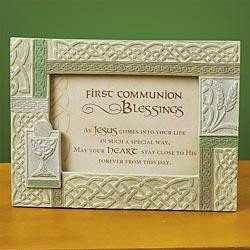 Irish First Communion Photo Frame
