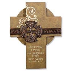 Irish Confirmation Cross -