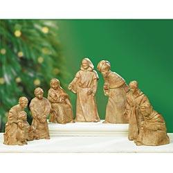 """""""holy Night"""" Nativity Set By Don -"""