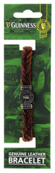 Guinness Ireland Brown Leather Pint Bracelet - 5390711607564