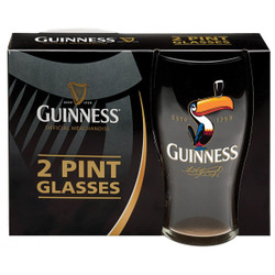 Guinness Toucan Pint Glass