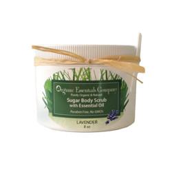 Organic Body Scrub Lavender 8 oz.
