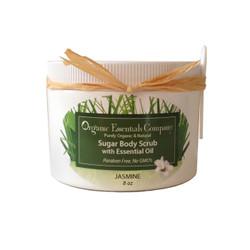 Organic Body Scrub Jasmine 8 oz.