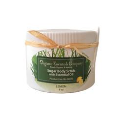 Organic Body Scrub Lemon 8 oz.