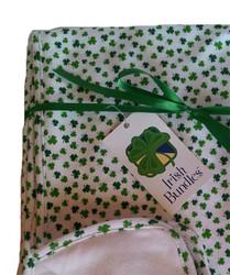Shamrock Baby Blanket