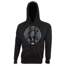 Guinness Black Pullover Hoodie w/ Beer Bottle Pocket