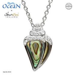 Shanore Seashell Pendant w/ Abalone