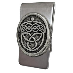 Celtic Acorn Money Clip