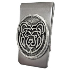 Celtic Bear Money Clip