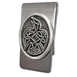 Celtic Raven Money Clip