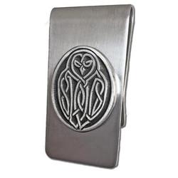 Celtic Owl Money Clip