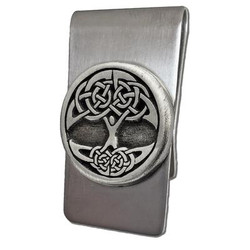 Celtic Tree of Life Money Clip