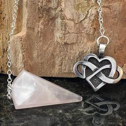 Celtic Infinite Heart Pendulum