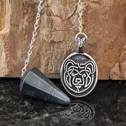 Celtic Bear Pendulum