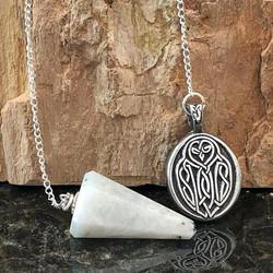 Celtic Owl Pendulum
