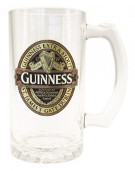 Guiness Classic Tankard with Badge