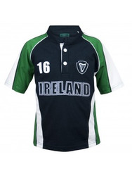 Croker Kids Green and Navy Sports Rugby - Size 6