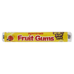 Rowntree Fruit Gums Roll