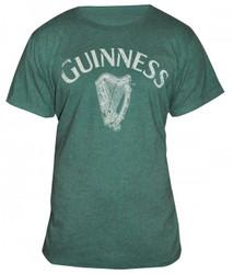 Guinness Heathered Harp Tee