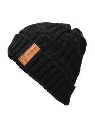 Guinness Black Beanie w/ Leather Patch