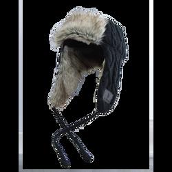 Lumberjack Black Knitted Hat