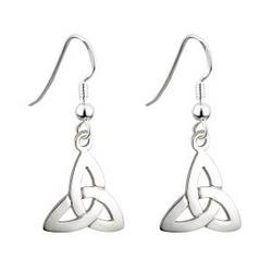 S/S TRINITY KNOT DROP Earrings
