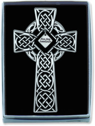 1ST COMMUNION CELTIC KNOT WALL CROSS GIFT BOXED