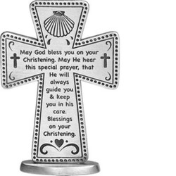 Christening 3 inch Standing Cross
