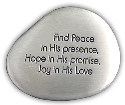 Find Peace Lg Soothing Stone