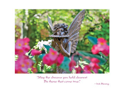 Garden Fairy Birthday Card