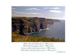 Cliffs Of Moher Birthday Card