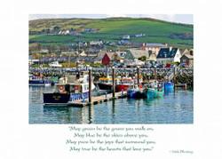 Irish Birthday Card-Dingle Harbor