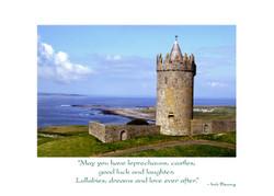 Irish Wedding Card-Doonagore Castle