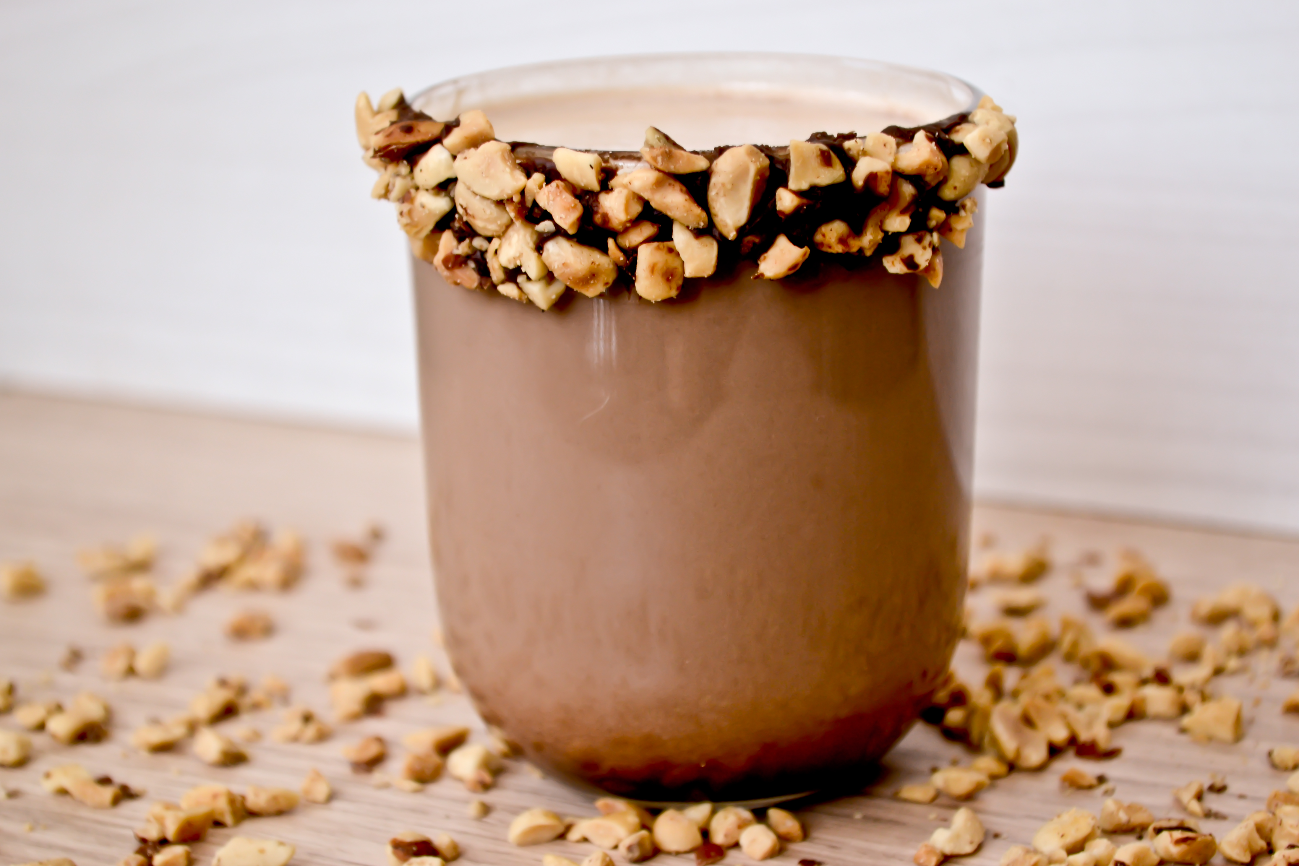 hot chocolate recipe with peanut butter