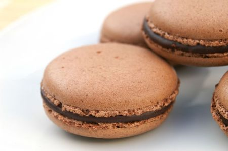 best french chocolate macaron