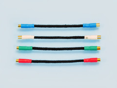 Headshell Leads - Duelund Solid Wire
