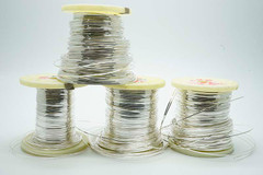 Silver-Gold(4%) Flat wire / meter