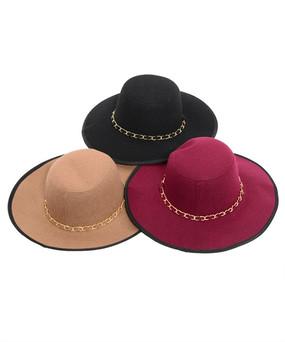 Assorted Chain Floppy Hat