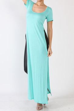Double Slit Top Mint